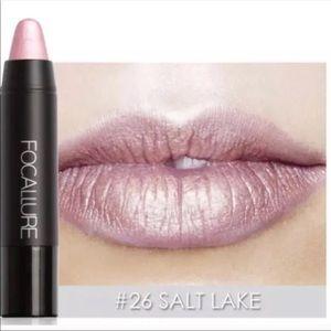 Other - 🎀Restocked! Focallure Metallic Lip Crayon🎀